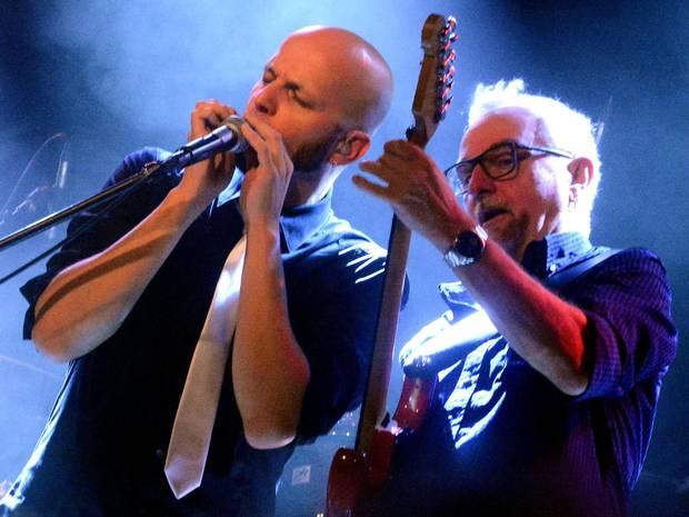 Jakob Hansonis (rechts) und Pit Hupperten. FOTO: HORST MÜLLER